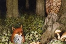 Лесные звери композиции