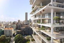 Terraced Residence Buildings
