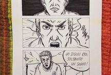 Comics / Qui potete vedere l'esperimento di un fumetto ancora da realizzare...tutti i diritti riservati? Hahahahjahaha!