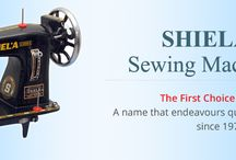 Shiela Sewing Machine / Shiela Sewing Machine is leading manufacturers &suppliers for automatic and motorized sewing machine, Domestic Sewing Machines, Industrial Sewing Machines, Sewing Machine Parts and Accessories.