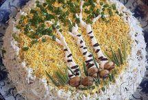 Декоративное оформление блюд