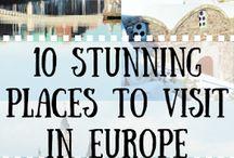 -travel Europe-