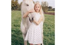 Red Valentino SS 2015 / Amalie Schmidt for Red Valentino SS 2015 Campaign by Venetia Scott