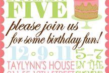 Birthday Party  / by Stina Vazquez