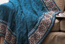 Afghans - knitting
