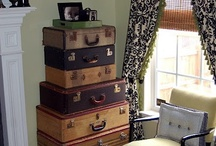 Vintage Luggage / Old Luggage / by Joyce Thomas