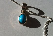 Turquoise Necklace with silver