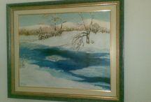 Olio su tela / i miei quadri