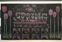 chalkboard / by Cori Bunce