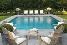 Pools and outdoor entertaining.