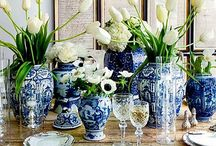blå glas grupp