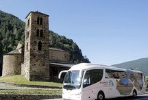 TOURIST BUS / The Andorra Tourist bus is the best way to see the scenary, culture and history of the Principality of Andorra