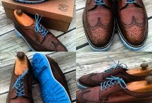Mens Shoes / A Nice variety of the many shoes we repair in location