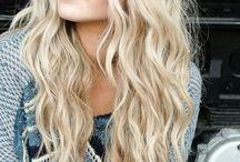 'BEACH' Hair Waves