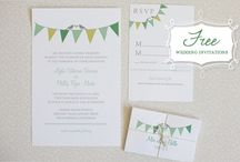 free wedding printables / by mysilkpurse.com