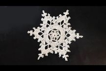 crochet snowflakes blanket video2