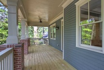 Home | Porch Envy / A porch + a rocking chair = a window on the world