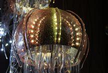 Jellyfish chandeliers