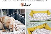Hundebetten und Hundedecken / Hunde mögen es kuschelig auf Hundedecken und Hundebetten