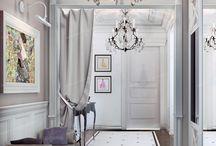 Hallway and Corridor Interiors