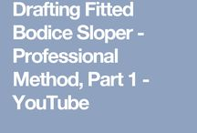 Kleding - patroontekenen video
