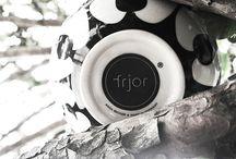 frjor design by Anna Becker / six bowls - six different patterns