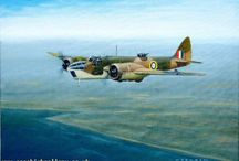 Aircraft paintings / aircraft paintings and sketches by artists