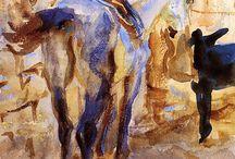Sargent Watercolour