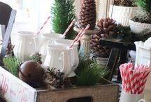 Christmas decor / by Kelly Mitchell
