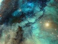stars and the deep space