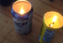 Candles / Beer can candles