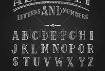 Lettering | Chalkboard
