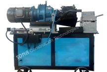 Rebar Threading Machine / The machine is mainly used of rebar in Construction projects, being key equipment to thread and join the rebar to gain length.