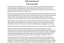 Malta Festival Poznań 2015