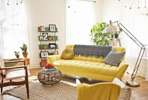new ideas for lounge - mustard