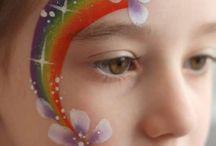 Maquillages arc en ciel