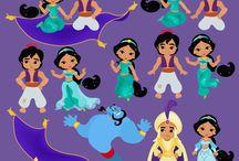 Princesa Jasmin Jasminne Aladdin