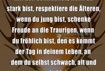 Zitate/Sprüche/Lebensweisheiten