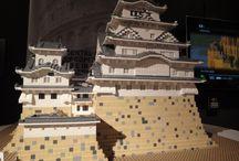 Castillos de Japón (Lego) / Los castillos más bonitos de Japón hechos con piezas de Lego.