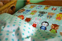 """Dětské povlečení original homemade """"pro spánek jako v bavlnce"""" :)"""