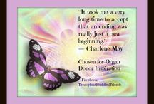 Inspired for Organ Donation Awareness / I enjoy creating images to inspire others to think about organ donation.