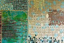 mark making & patterns
