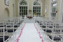 Hunton Park - The Orangery / Styling ideas for the Orangery at Hunton Park - in our opinion one of the best ceremony venues in Hertfordshire!