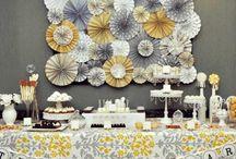 Party Ideas - Dessert Table