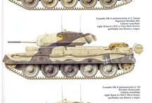 British WW2 Tanks