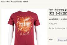 Ed Sheeran Merchandise / Ed Sheeran merchandise that every  Sheerio needs!! You can buy it off Edsheeranofficialonlinestore!
