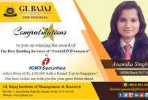 GLBIMR Student Wins StockMIND Season 6 by ICICI Securities Limited