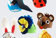 Chapeaux des animaux