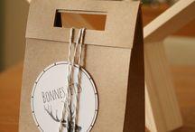 DIY boîtes et étiquettes