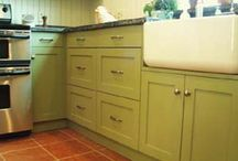 kitchen cabinets / by Morris & Essex